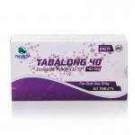 Generikus Cialis: Tadalong 40 (Tadalafil 40 mg) DUPLA hatóanyag!